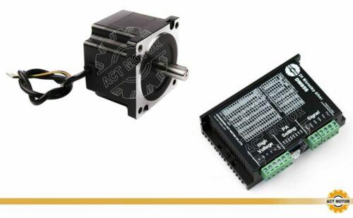 DE Free!Nema34 Schrittmotor 34H6440-35 66mm 3.2Nm 4A Φ12.7mm Keyway+DM856 CNC