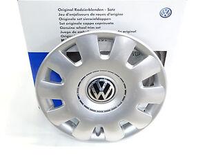 4x-Orginal-VW-Bora-Golf-Polo-Beetle-Radzierblenden-Radkappen-15-Zoll-1J0071455
