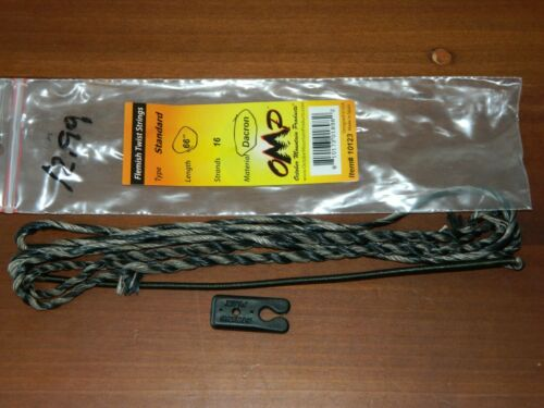 Flemish Twist Bow Strings-60 66 October Mountain Products 64 Details about  /OMP 68 AMO 62
