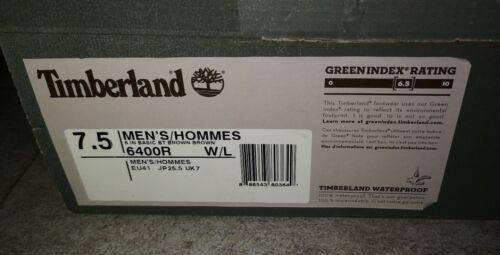 Timberland 7 Scarponcini 6 41 In Eu W 5 Uk l 7 Uomo Marroni 6400r xBr4wgxq