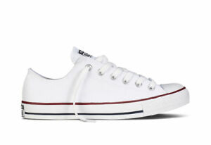 Uomo 2018 Donna All Tela Star Classiche Converse Bianco Sneakers Scarpe Basse Rv0Hq8wn