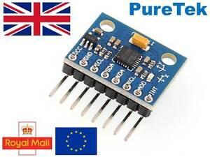 Mpu-6050 Gy-521 3 Axis Gyroscope Accelerometer Module for RPI Arduino Esp8266