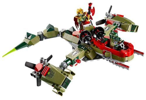 LEGO® Legends of Chima 70006 Cragger's Command Ship NEU OVP NEW MISB NRFB