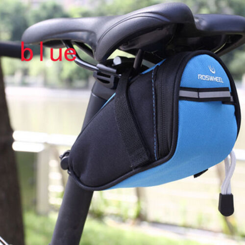New Cycling Bicycle Bike Waterproof Seat Storage Saddle Bag Rear Tail Seat Pouch