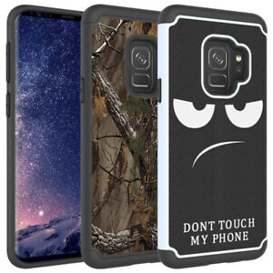 For-Samsung-Galaxy-S9-S9-PLUS-Case-Hard-Soft-TPU-Hybrid-Shockproof-Phone-Cover