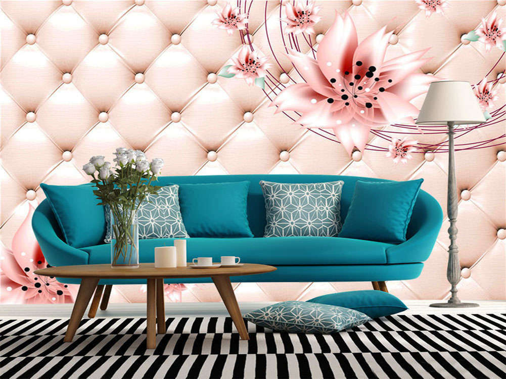 Enormous Warm Flower 3D Full Wall Mural Photo Wallpaper Printing Home Kids Deco