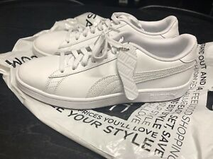 Pumps New White Size Puma Mens Trainers 8 Brand PxHBntnwqO