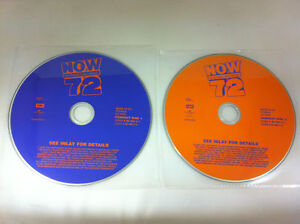 Now-72-Thats-What-I-Call-Music-Double-CD-Various-Artists-2009-DISCS-ONLY