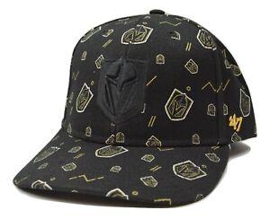 039-47-Vegas-Golden-Knights-NHL-Black-Afterglow-MVP-DP-Hockey-Adjustable-Cap-Hat