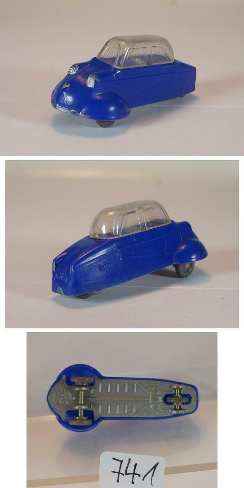 Siku plastique V 30 couteau Schmidt cabines Roller Bleu v-Série #741   Mende    Des Technologies Sophistiquées    Couleur Rapide