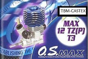 Moteur Os Max 12 TR P T