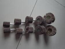 Schleifstifte Fächerschleifer 6 mm Schaft, 10 Stück, Korn 240, ETFS-SET-240