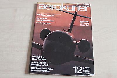 Aerokurier 12/1983 Boing 757 Kompetent 164417 Fokker F50 F100