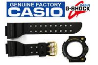 Casio Gw-225a-1 G-shock Frogman Original Black 18 Mm Band & Bezel Combo