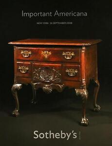 Sotheby S Important Americana Furniture Auction Catalog 2008 Ebay