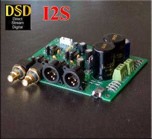 HIFI Assembled ES9028 I2S input decoders ES9028Q2M mill board DAC balance output