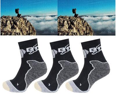 2-3er Paio Bootdoc Peak T7 Unisex Escursionismo Calze Scarponi Da Trekking Ridurre Il Peso Corporeo E Prolungare La Vita