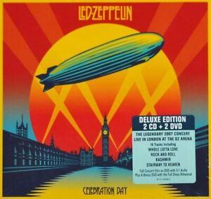 LED-ZEPPELIN-celebration-day-sealed-2X-CD-album-amp-2X-DVD-video-Deluxe-Edition