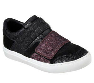 Sneakers New Casual City Street Shine Trainers Women Style Side Skechers Black Aqf4qg
