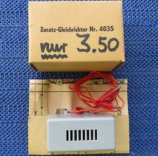Faller AMS 4035 Zusatzgleichrichter zum hintereinanderfahren 2 Autos NEU in OVP!