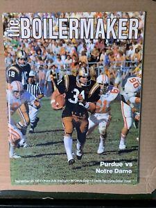 1977-Purdue-Boilermakers-vs-Notre-Dame-Fighting-Irish-Football-Program-VG-EX
