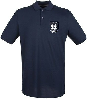 Hull City   3 Lions Club And Country Small Crest Polo Mens