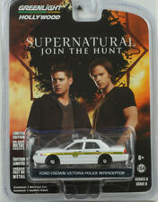 Movie Supernatural Join the hunt Ford Crown Victoria Police 1:64 Greenlight