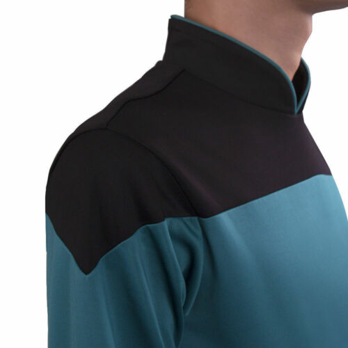 Star Trek TNG Jumpsuit Uniform Cosplay The Next Generation Blue Uniform Pin Set