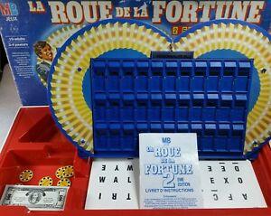 la roue de la fortune 2 me dition devenez patrick morin le jeu de tf1 1987 ebay. Black Bedroom Furniture Sets. Home Design Ideas