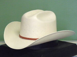 Image is loading STETSON-PRIMO-10X-SHANTUNG-STRAW-COWBOY-WESTERN-HAT f2d0f2e6d9e