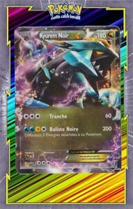 Dettagli Su Kyurem Noir Ex Nb Tempête Plasma 95 135 Carte Pokemon Neuve Française