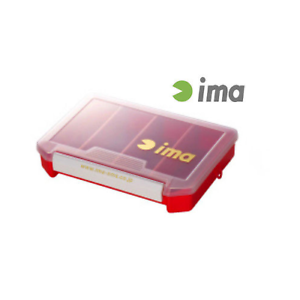 IMA LURE CASE 205×145×40mm COLORE  rojo  SCATOLETTE PORTA PORTA PORTA ARTIFICIALI bc7e8e