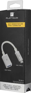 Platinum- USB Type-C-to-USB Adapter