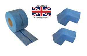 20m AQUA BUILD IV Waterproof Fleece Tanking Tape with elastic flexible strip