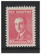 Albania - 1925, 10q President Zogu (Perf 11 1/2) stamp - MNH - SG 196a