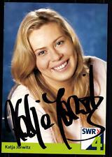 Katja Jorwitz SWR Autogrammkarte Original Signiert ## BC 22916