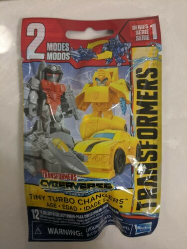 Transformers cyberverse TINY TURBO changeurs série 1 Open Sac-Autobot Hot Rod