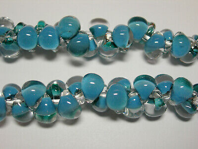 25 8x6mm Color Changing Alexandrite Czech Glass Rondelle beads