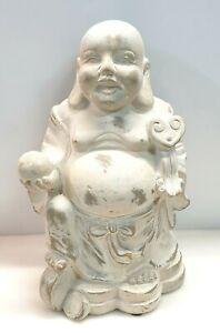 Br) Lachender Happy Buddha personaggio 35cm Giardino Figura Decorazione fehg-shui