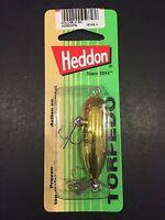 Heddon Tiny Torpedo 1 7/8 1/4oz Gold Black Back X0360gpb