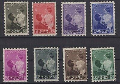 Belgia Belgium Stamps 1937 Mi 443 450 Ebay