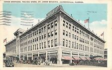 1931 Cohen Bros. Big Store St. James Building Jacksonville FL post card Jewish