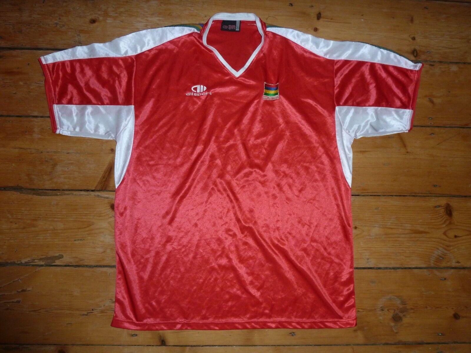 Mauritius T-Shirt Calcio 2007 [XL] Maglia Maglietta  Indossata Rétro Vintage  buscando agente de ventas