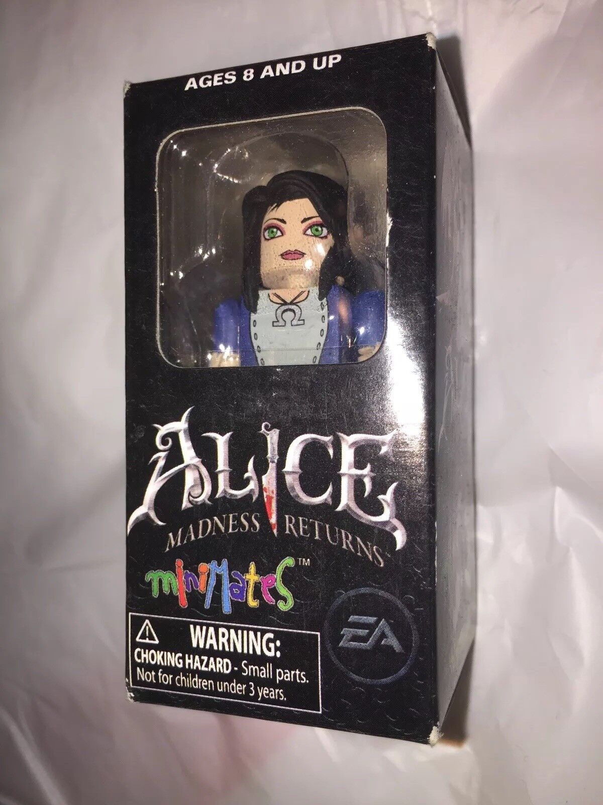 Alice Madness Returns Minimates San Diego Comic Con Exclusive Wonderland RARE