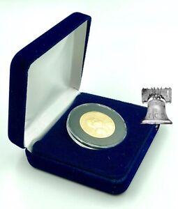 Air-Tite Blue Velvet Coin Presentation Case for Air-Tite Brand 1 Holds 2
