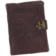 The Dragon and the Hummingbird Handmade Leather Blank Medieval Journal