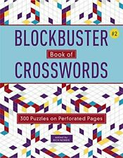 Blockbuster Book of Crosswords 2 by Rich Norris 9781454929994 (paperback 2018)