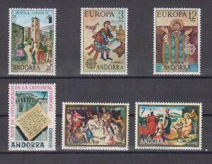 ANDORRA-ESPANOLA-1975-ANO-COMPLETO-NUEVO-MNH-SPAIN-EDIFIL-96-101