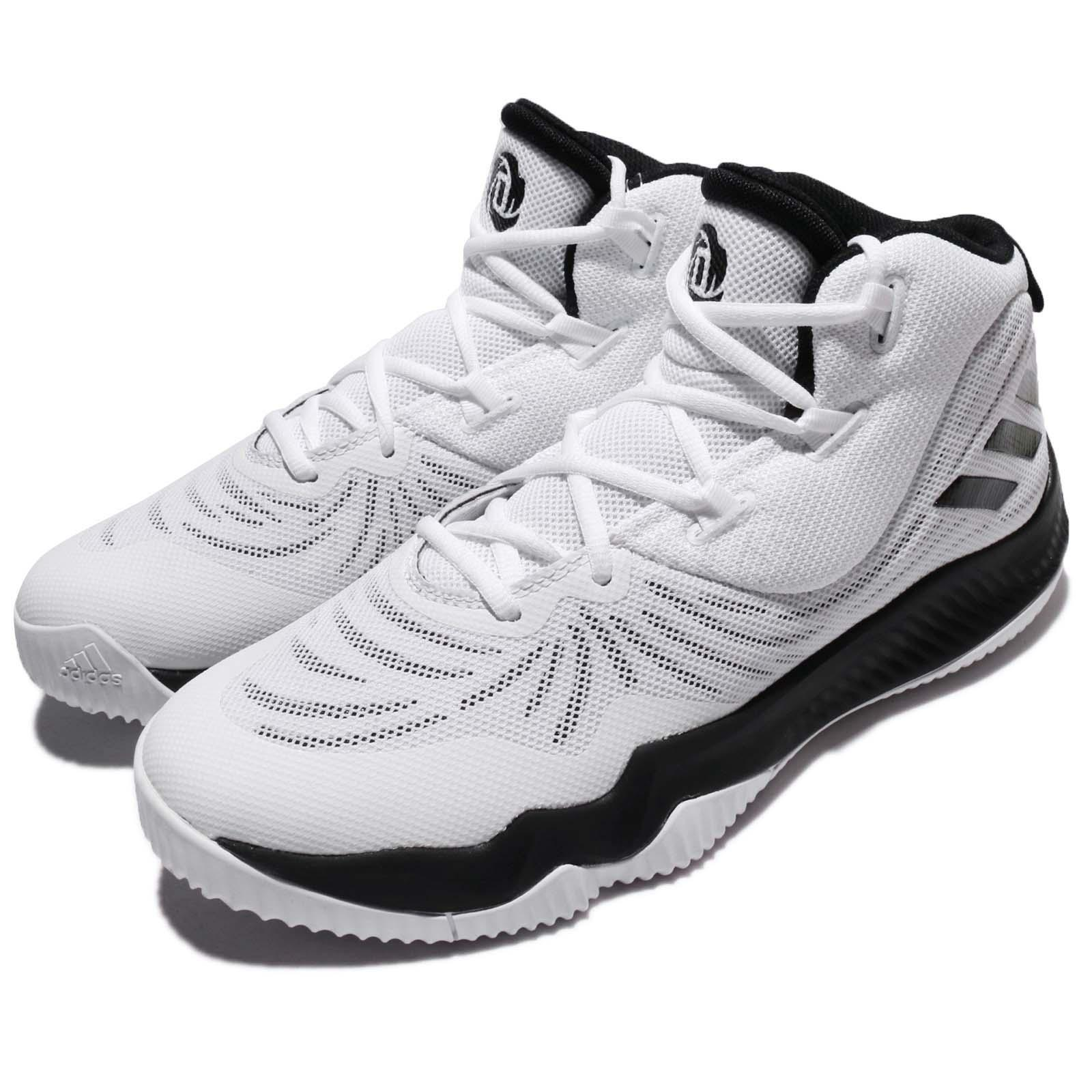 adidas D Rose Dominate III 3 Derrick Blanc Noir Men Basketball Chaussures CQ0204