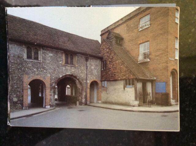 b1c postcard unused st swithun upon kingsgate church winchester